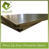 Tuiles décoratives de plafond de la construction 600*600 perforée en aluminium avec ISO9001