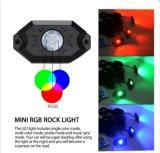 Indicatore luminoso nuovo 12V IP68 della roccia di RGB LED
