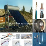 Calore Pipe Solar Hot Water Heater con CE Approval