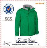 Куртка таможни людей грелки зимы OEM дешевая оптовая проложенная Softshell