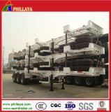 Châssis terminal de yard de conteneur de remorque de la capacité 40-60ton