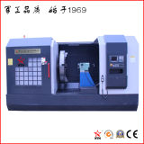Torno separado grande del CNC para trabajar a máquina el borde de 4000 milímetros de diámetro (CK64400)