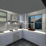 Gabinetes de cozinha modernos do MDF do padrão americano