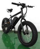 Vélo électrique de rétro de montagne de vélo de plage pneu modèle de croiseur gros