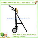 Stand extérieur de chariot à engine de transporteur de canot automobile avec la roue solide