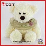 Ursinho de pelúcia Urso de pelúcia urso com bordado roupas de flores