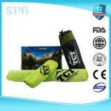 Microfibre Promotion Hooks Sport Serviette de nettoyage de golf personnalisée