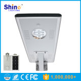 Sunpower Solar Panel 15W LED All-in One Solar Street Light avec capteur infrarouge humain