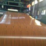 Цвет покрыл стальные катушки новых деревянных конструкций