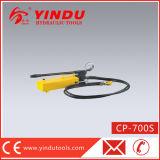 Bomba hidráulica manual ativa do dobro grande super (CP-700S)