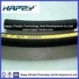 Doppio Fiber Braid Rubber (non metallico) Covered Hydraulic Hose