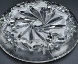 100%の無鉛透過クリスタルグラスのデザート用深皿の結婚式ボールのガラス製品Sx-006