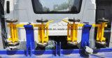 Camión de auxilio con el carro de remolque plano de la grúa 8t
