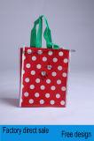 Подгонянные сплетенные портативные Non-Woven мешки, хозяйственную сумку