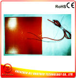 Riscaldatore elettrico flessibile del rilievo della gomma di silicone