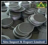 Filtre de compensation de fil de l'acier inoxydable 316