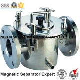 Separatore magnetico permanente per farmaceutico, prodotto chimico della conduttura liquida di serie