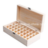 Qualitäts-glasiges Ende kundenspezifischer hölzerner Zigarre-Kasten