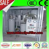Filtration d'huile de lubrification de vide de Tya, matériel d'épurateur de pétrole de vide