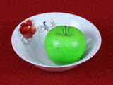 丸型の赤い花テーブルウェア一定の磁器版およびボール