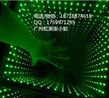 Diodo emissor de luz Dance Floor do efeito DMX 3D do abismo do espelho do entretenimento 50X50cm do partido do disco