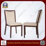 Stoel van de Eetkamer van de Goede Kwaliteit van het Aluminium van het Meubilair van Jinbihui de Stof Beklede (BH-FM8014)