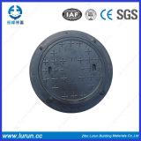 En124 D-400 공장 공급자와 가진 둥근 사각 BMC 맨홀 뚜껑