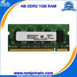 Высокая производительность низкой плотности 64 * 8 800 PC2-6400 1GB DDR2 DIMM памяти для ноутбуков