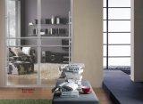 Porta deslizante do Wardrobe da série do obturador do PVC do projeto de Morden (yg-010)