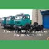 콩고 시장 저가 Beiben 트랙터 트럭 북쪽 벤츠 트랙터 트럭
