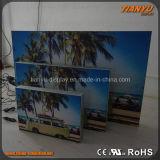 가벼운 상자를 광고하는 Frameless 알루미늄 직물/직물