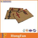 ブラウンクラフト紙の昇進袋/ショッピング紙袋