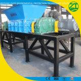 Desecho de metal doble del eje/basura sólida/desfibradora de vida de la basura/del plástico/de la espuma/del neumático