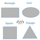 Dekorativer Tisch-Oberseite-Abwechslungs-Glas-Hersteller