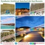 Synthetische Thatched DachBalihawaii künstliche Thatch Tiki Stab-Hütte Thatched Häuschenmaldives-Rücksortierungen