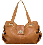 Md4064チャーミングなデザイン女性革ハンドバッグ