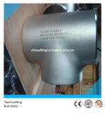 Instalación de tuberías inconsútil inoxidable de la te del acero Wp316/316L