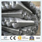 Panneau de treillis métallique et PVC soudés galvanisés enduits