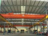 32/5ton Qd LuchtKraan van de Balk van de Hanger de Dubbele met de Elektrische Opheffende Machines van het Hijstoestel voor Workshop
