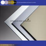 claro del espesor de 3-12m m, bronce, vidrio de flotador teñido gris y espejos