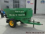 Propagador agricultural do fertilizante do gramado com estrutura compata