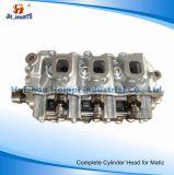 Daewoo Matiz Aveo F8CV F8c 96316210 96642707를 위한 실린더 해드를 완료하십시오