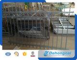Селитебная загородка ковки чугуна черноты безопасности (dhfence-20)