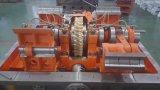 Máquina cortando automática com seção de descascamento (alimentação do alimentador)