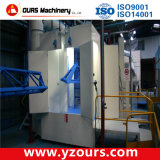 Cabina del forno del rivestimento della polvere del cambiamento di colore veloce