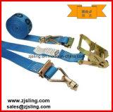 """Cam carga de trinquete Correa / amarre con accesorios W / mariposa 2 """"x 16"""" Azul"""
