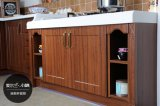 PVCモジュラー現代自由で永続的な食器棚(zc-009)