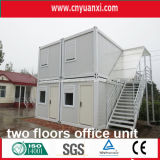 サイトOfficeのためのTwo Floorsの20ft Modular Container House
