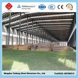 Taller de la fabricación del marco de acero de la estructura de China para la fábrica