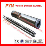 PVC Profileのための対のParallel Screw Barrel